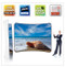 EZ Wave Snap Tube 10ft Curved Display Double Sided