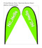 Teardrop Flag Banner Large Double Sided Replacement Graphic