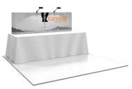 Coyote Straight Pop Up Display (3x1)