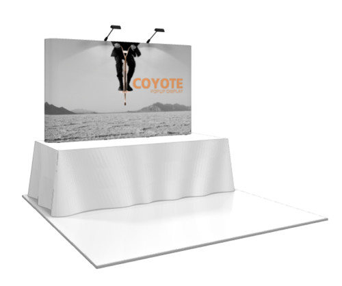 Coyote Straight Pop Up Display (3x2)