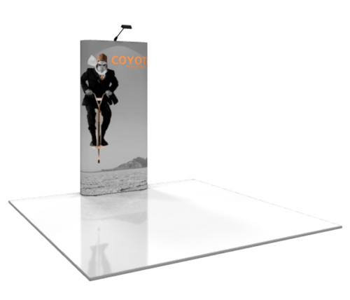 Coyote Straight Pop Up Display (1x3)