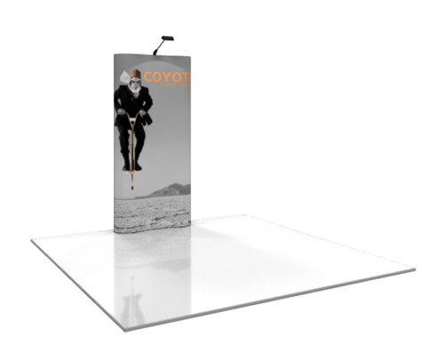 Coyote Curved Pop Up Display (1x3)