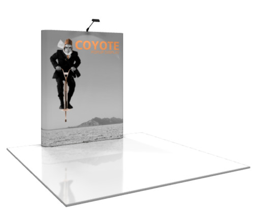 Coyote Straight Pop Up Display (2x3)