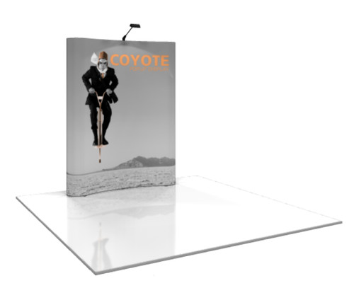 Coyote Curved Pop Up Display (2x3)