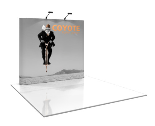 Coyote Straight Pop Up Display (3x3)