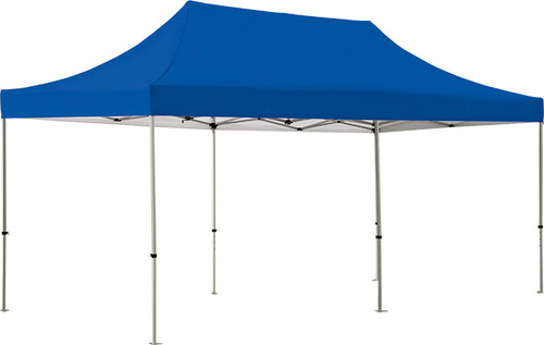Solid color zoom popup tent