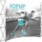 Hopup 10ft curved full graphic 4x3 without Endcaps