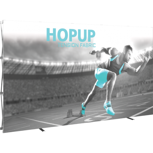 Hopup 12ft straight full graphic 5x3 without Endcaps