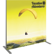 VECTOR FRAME SQUARE 02 FABRIC BANNER DISPLAY RIGHT VIEW