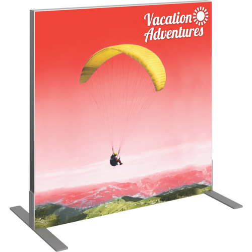 VECTOR FRAME SQUARE 01 FABRIC BANNER DISPLAY RIGHT VIEW