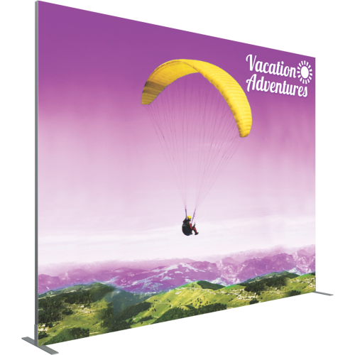 VECTOR FRAME RECTANGLE 05 FABRIC BANNER DISPLAY RIGHT VIEW