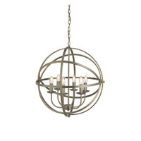 S912476AB Orbit Antique Brass Ceiling Pendant