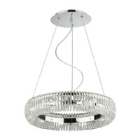 Ideal Lux 059570 Quasar SP10 Glass Ceiling Pendant