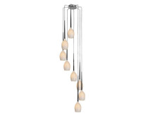 AZ Zardo MD1288A-8W IZZA 8 Light pendant White