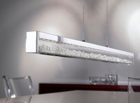 E4193626  Chrome/Crystal Dimmable Led Ceiling Pendant