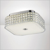 Diyas IL80023 Hawthorne LED Large Square Flush