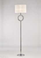 Diyas IL31535 Florence Floor lamp Chrome