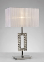 Diyas IL31536 Florence Table lamp Chrome
