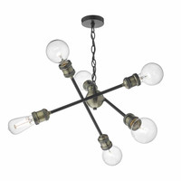 DIRB100654 Vintage Pendant Antique Brass