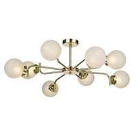 David Hunt JAZ0840 Jazz 8 Light Ceiling light Polished Brass
