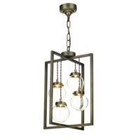 David Hunt CHI0475 Chiswick Open Lantern Antique Brass