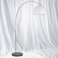 S911037FL Floor Lamp Polished Chrome
