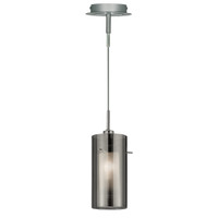 S912301SM Duo 2 1 Light Ceiling Pendant Polished Chrome