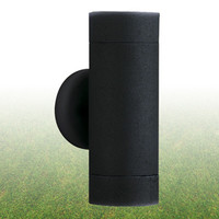 S9160092BKLED Up/Down BLACK Outdoor Wall Light