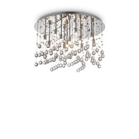 Ideallux MOONLIGHT PL12 Crystal Ceiling Light
