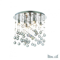 Ideallux MOONLIGHT PL8 Crystal Ceiling Light