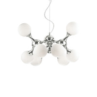 Ideallux NODI BIANCO SP9 9 Light Ceiling Pendant