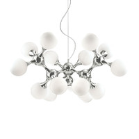 Ideallux NODI BIANCO SP15 15 Light Ceiling Pendant