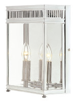 HEL7/M PC  Wall lantern Polished Chrome