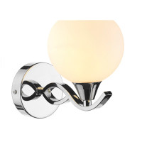 DURA100750  Twin Polished Chrome Wall Light