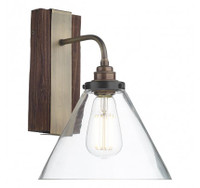 David Hunt ASP0729 Aspen Wall light Wood effect