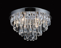 DIL6531432  8 Light Crystal Ceiling Light