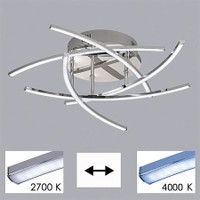 H6120108 Cross LED Ceiling Light CCT (Remote Control)