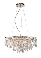 DIL1531716 Pendant Crystal 8 Light Rose Gold