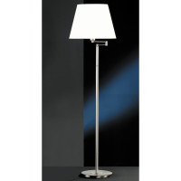 H6147031 Satin Nickel Swing Arm Floor Lamp