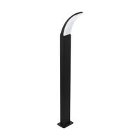E4198152 Curve Bollard Large Black