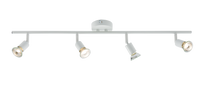 HLS HLSPG4WW White 4 Light Bar Spot Light