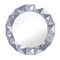DAR 002CET8010 Cetara mirror Smoked Grey