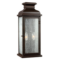 EL15FEPEDIMENT/M Medium Wall Lantern