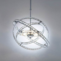 DAR ETE2350 Eternity 10 Light Crystal Pendant