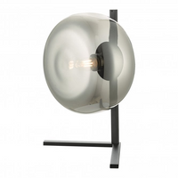 Dar ERL4110 Erla Matt Black Table Lamp