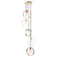 E3181929 5 Light Hoops Ceiling Pendant