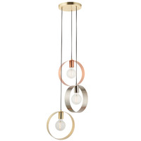 E3181922 3 Light Hoops Ceiling Pendant