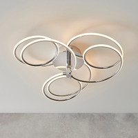 E3181886 Polished Chrome LED Ceiling Light