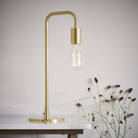 E3177117 Rubens Brushed Brass Table Lamp