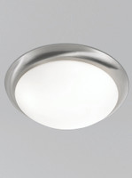 455760 Flush  2 Light Satin nickel 33cm